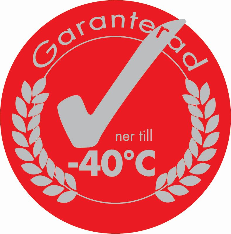 Garanterad -40C